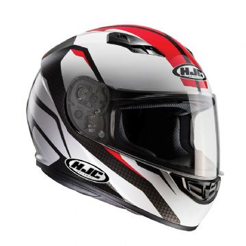 HJC CS-15 Sebka Red Full Face Motorcycle Motorbike Helmet RRP £89.99